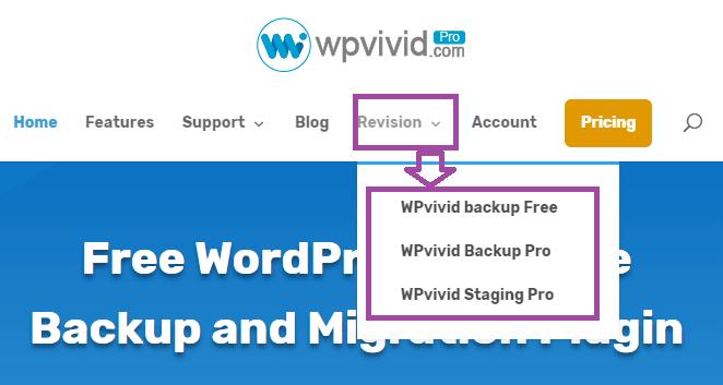 WP Vivid Backup