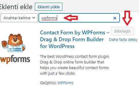 Blog açtıktan sonra yüklenecek temel eklentiler-1/WPForms