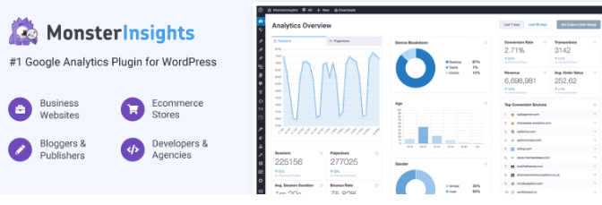 MonsterInsights Eklentisi ile Google Analytics Ekleme