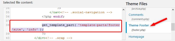 Wordpress gururla sunar yazısını footer.php ile kaldırma