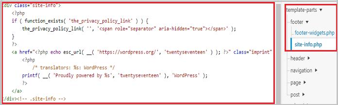 Wordpress Tarafından Desteklanmektedir Yazısını Kaldırma