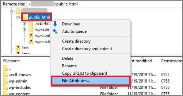 403 Forbidden Hatasının Çözümü İçin Dosya İzinlerini Değiştirme-1