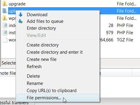 Wordpress resim yükleme hatası çözümü-2