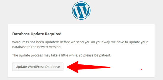 WordPress manuel güncelleme-Veritabanı Güncelleme