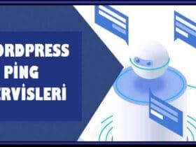 WordPress Ping Servisleri