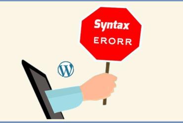 WordPress Sözdizimi Hatası (Syntax Error) Çözümü