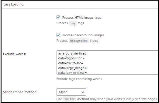 W3TC Kullanıcı Deneyimi Ayarları