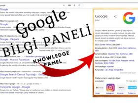 Google Bilgi Paneli (Knowledge Panel) Nedir?