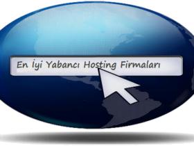 Yabancı Hosting Firmaları