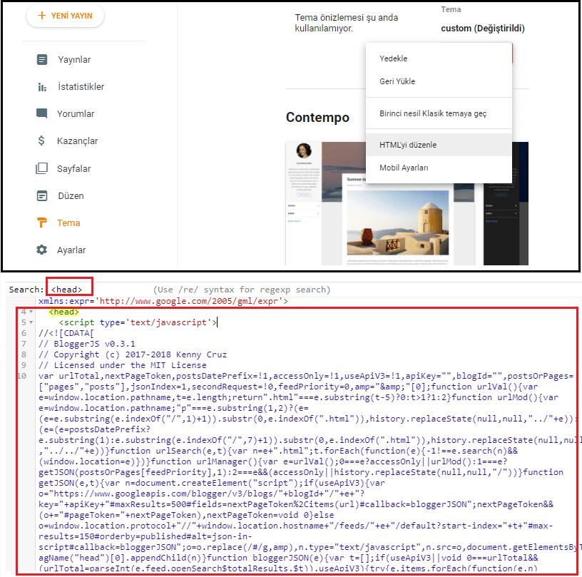 Blogger gönderilerinin URL'sinden tarihi kaldırmak