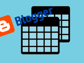Blogger'a Duyarlı Tablo Nasıl Eklenir?